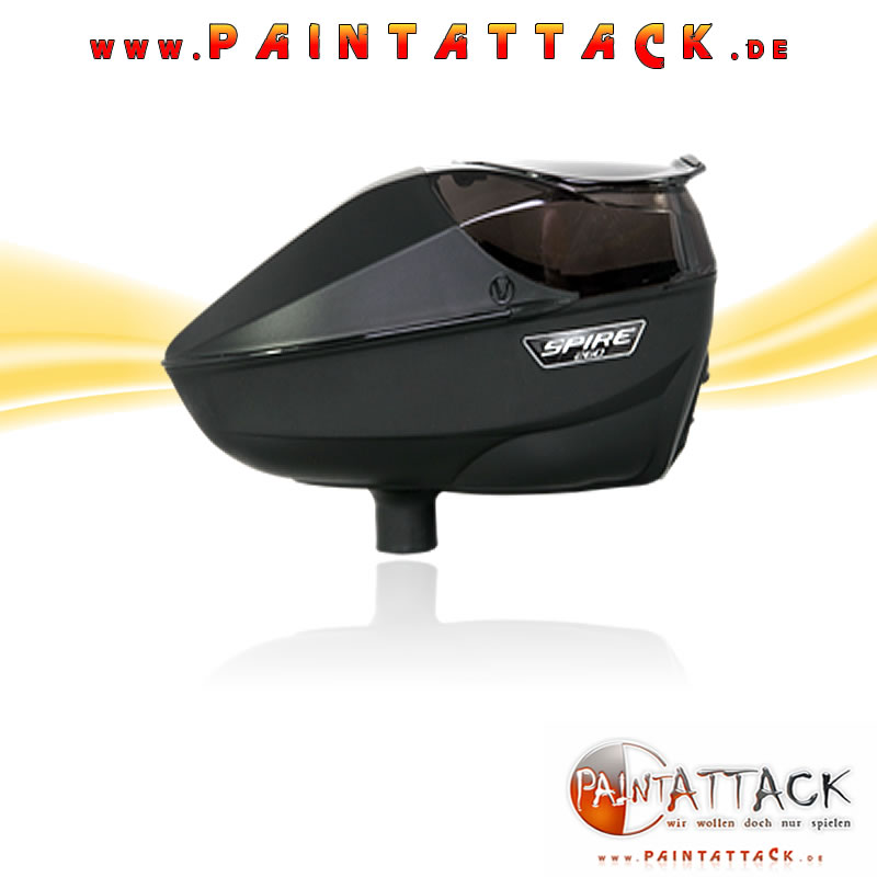 Virtue Spire 260 Loader SCHWARZ - Paintball Hopper BLACK