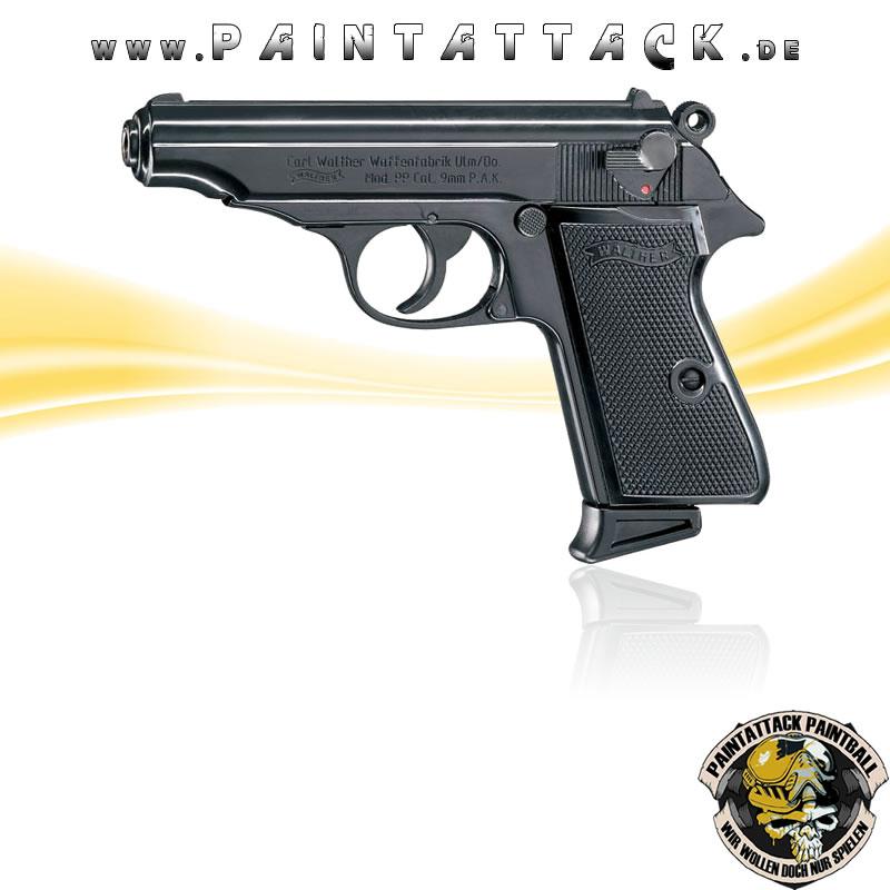 walther pp 9mm pak gaspistole schreckschusspistole. Black Bedroom Furniture Sets. Home Design Ideas