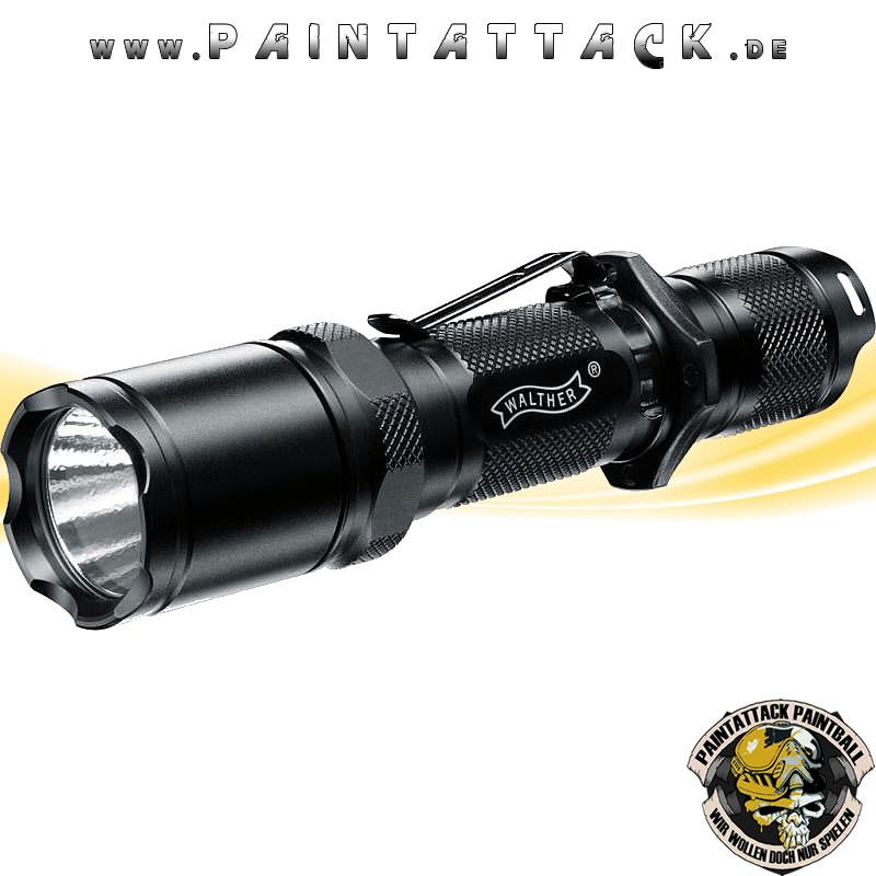 Taktische Taschenlampe Walther MGL 1100 X2 Strobo mit 18 / 200 / 800 Lumen (+/- 15%)