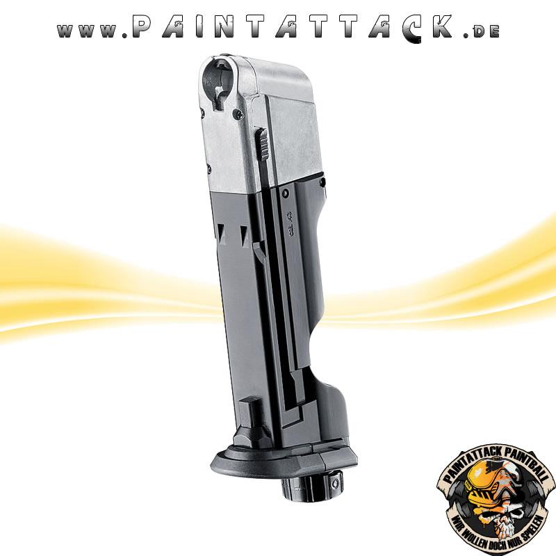 T4E Emergency Magazin für Walther PPQ M2 T4E Kaliber 43 Notfall-Magazin