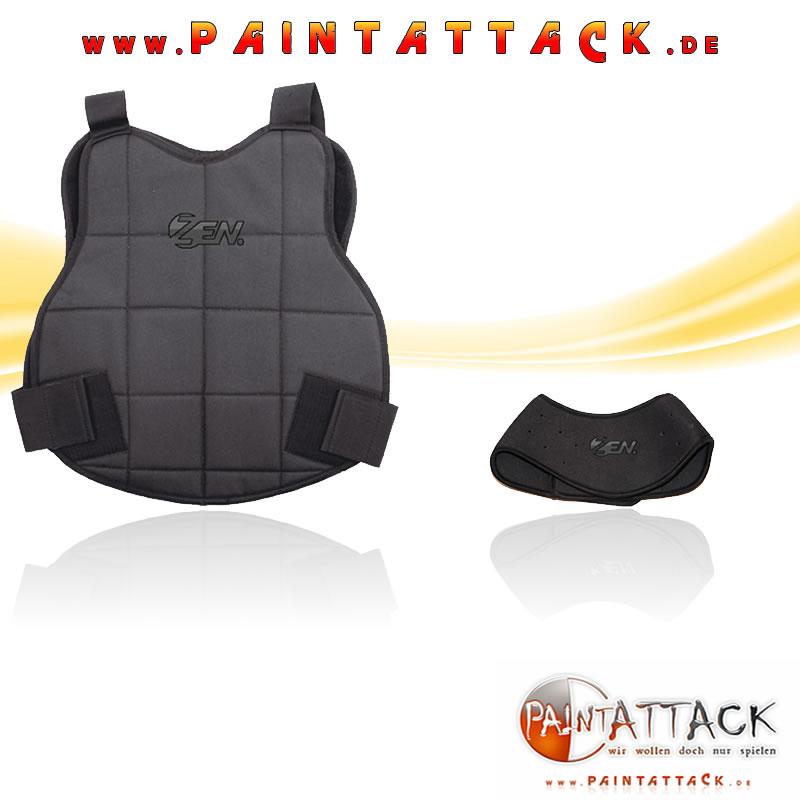 Brustpanzer Halsschutz für Softair und Paintball Chest Protecto Neck Protector